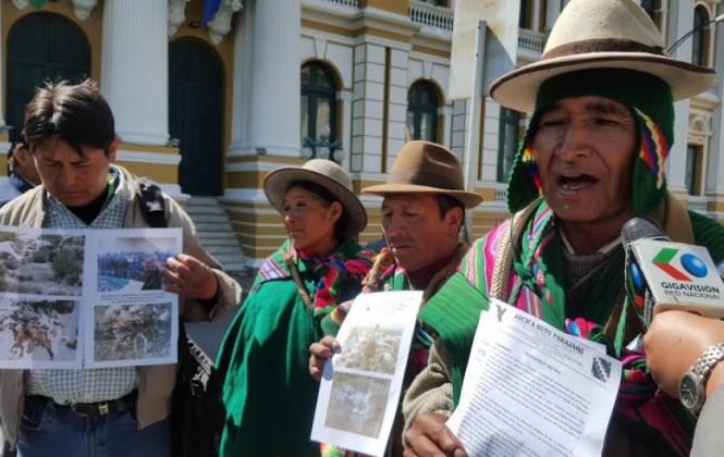 La sequía azota a comunarios de Pacajes y éstos claman por ayuda
