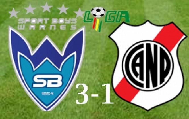 Sport Boys se impone sin problemas por 3-1 a Nacional Potosí