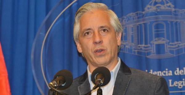 El vicepresidente Álvaro Garcia Linera defendió los argumentos que Bolivia llevará ante La Haya para demostrar que sí tiene competencia para administrar la demanda boliviana