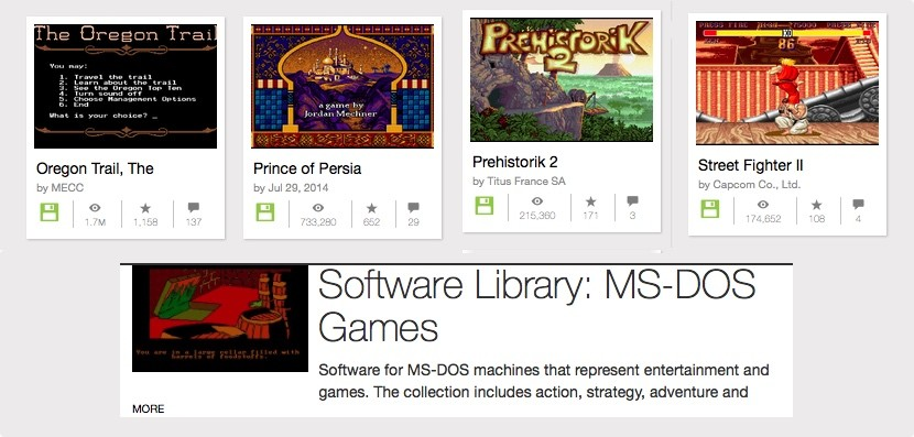 juegos ms dos gratis 830x397 Disfruta de más de 2500 juegos de MS DOS
