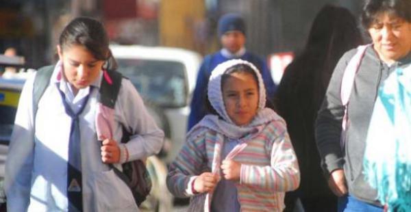 Varias regiones del país presentan temperaturas por debajo de los cero grados centígrados y se incrementan los resfríos.