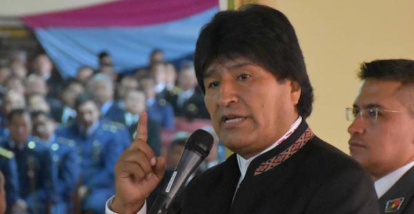 El presidente Evo Morales lamentó las últimas declaraciones del agente boliviano ante La Haya, José Miguel Insulza