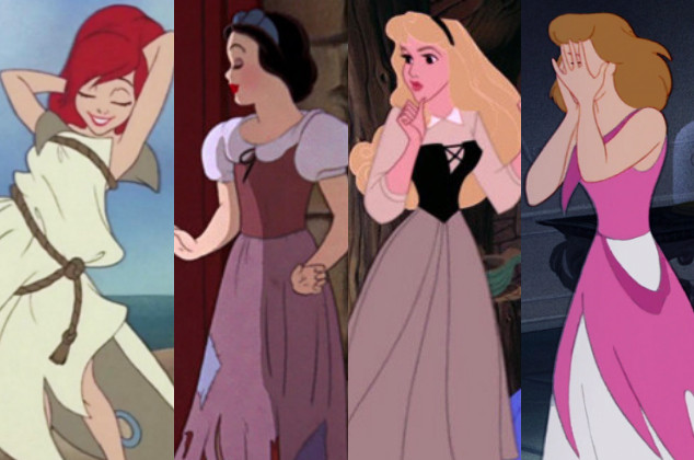 Secretos princesas Disney