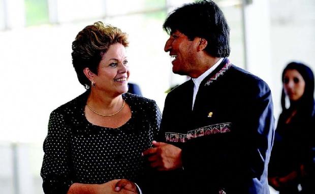 Evo Morales realiza hoy su primera visita oficial a Brasil