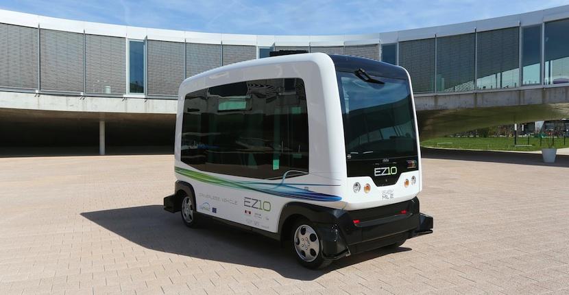 we Conociendo un poco mejor WEpod, un autobús urbano autónomo