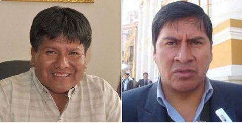 Los gobernadores Víctor Hugo Vásquez y Juan Carlos Cejas