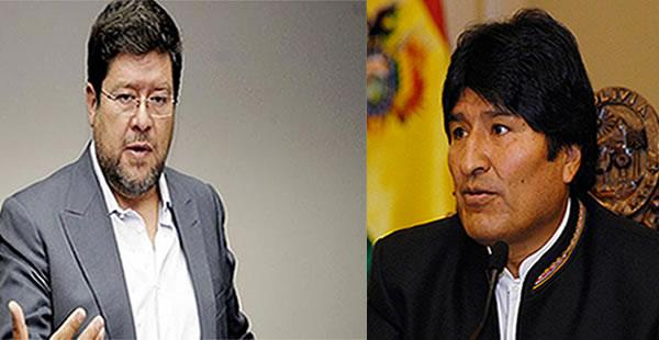 El opositor cuestiona la versión del primer mandatario sobre la relación con Gabriela Zapata.