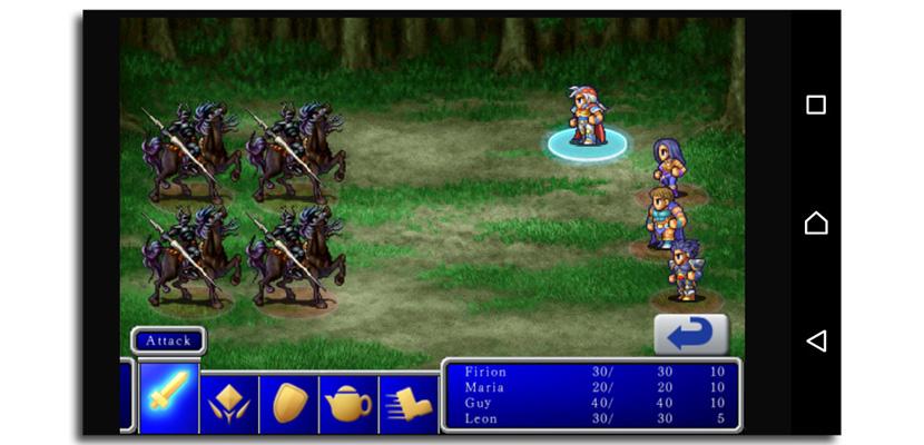 final fantasy II pantallazo Final Fantasy II gratuito por tiempo limitado cortesía de Square Enix