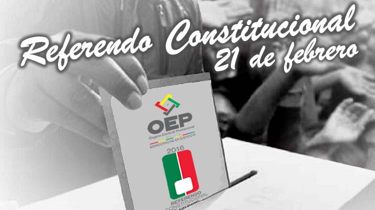 Referendo Constitucional 2016 en Bolivia