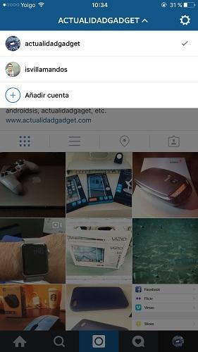 Instagram multicuenta Instagram ya permite usar 5 perfiles al mismo tiempo desde el mismo smartphone