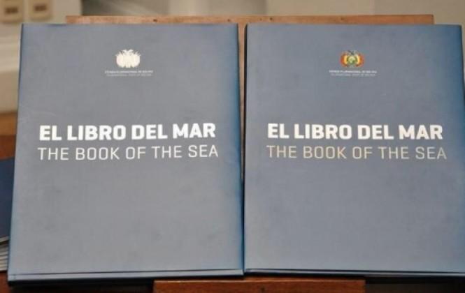 Prohíben la distribución del Libro del Mar en feria del libro en Chile