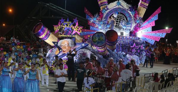 Los grandes ganadores del festejo llevaron el Carnaval de Santa Cruz hasta las estrellas