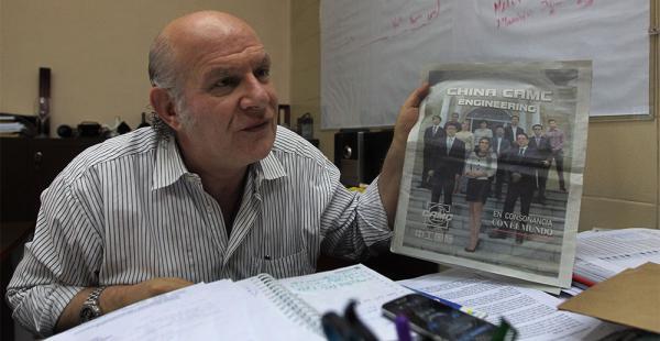 Carlos Valverde fue denunciado en el Ministerio Público
