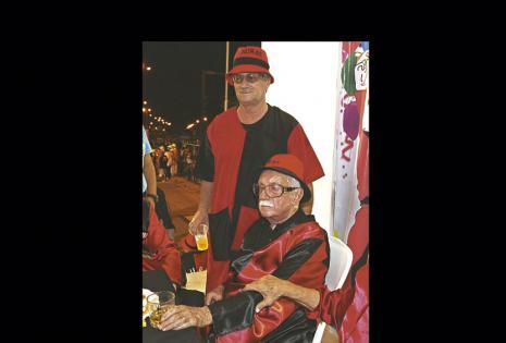 Padre e Hijo. Pedro Rivero Mercado y Pedro Rivero Jordán