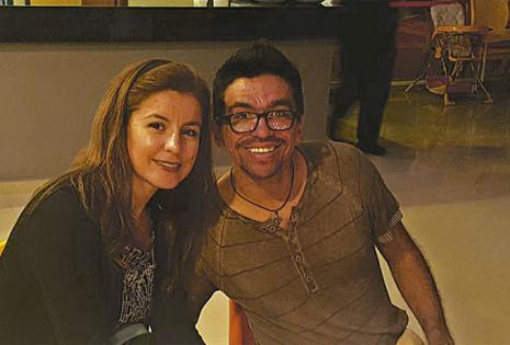 'Nandy' Justiniano y Ana Paula Sánchez