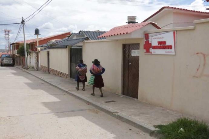 CERRADO. Muchos centros de salud de primer nivel no atendieron durante el último mes.