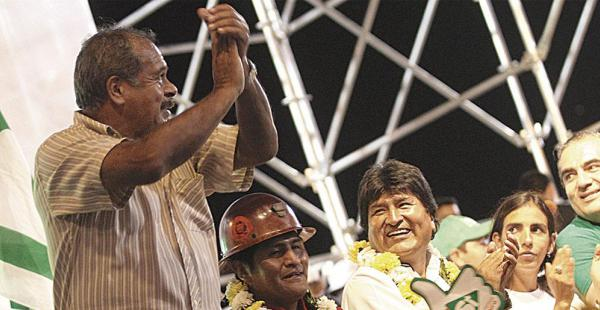 'Chichi' Romero proclamó públicamente su respaldo al presidente