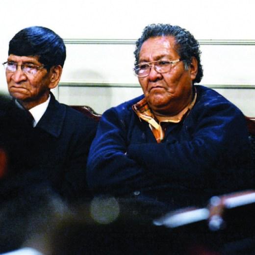 Envían a la cárcel de San Pedro a Braulio Rocha y Wilmer Sarzuri