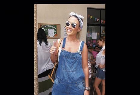 Ximena Zalzer asistió al colegio Franco Boliviano