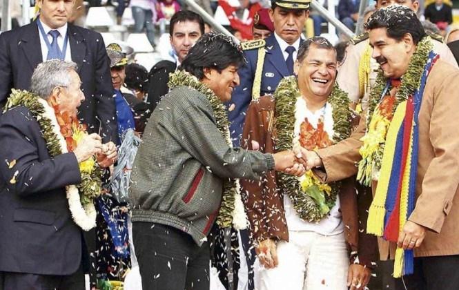 Medios y analistas internacionales hablan del declive del bolivarianismo tras la derrota de Evo