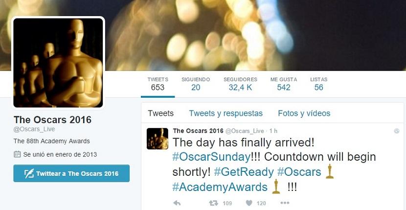 Los Oscar 2016 Dónde ver los Oscar 2016 en directo a través de Internet