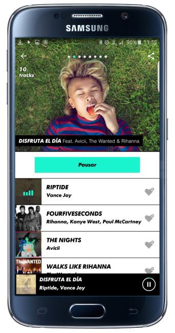 Lista en MTV Trax