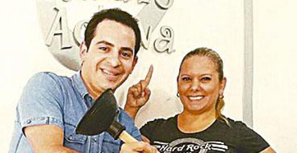 DUPLA. Ronico Cuéllar y María Renée Liévana harán de las suyas