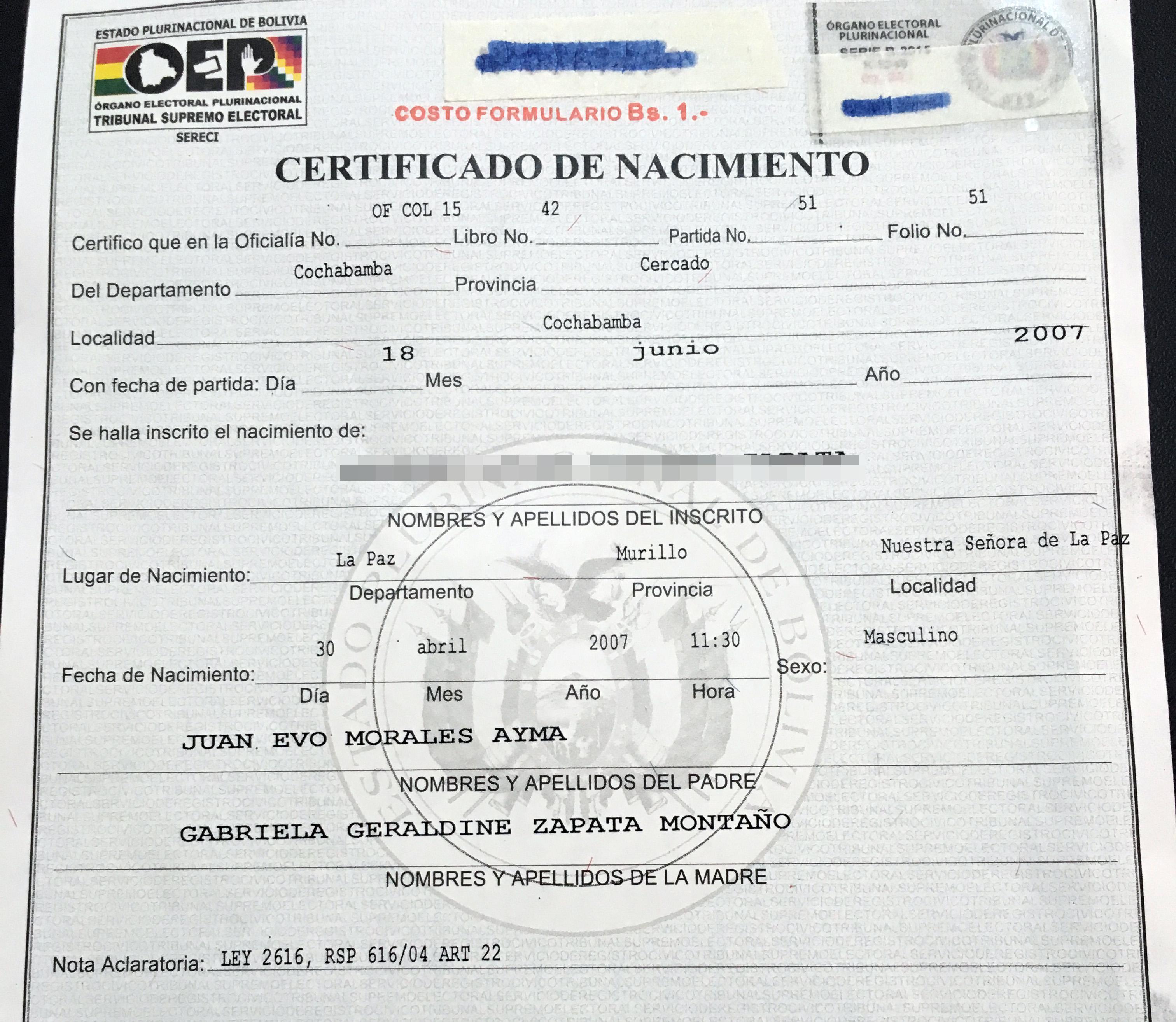 certificadonacimiento