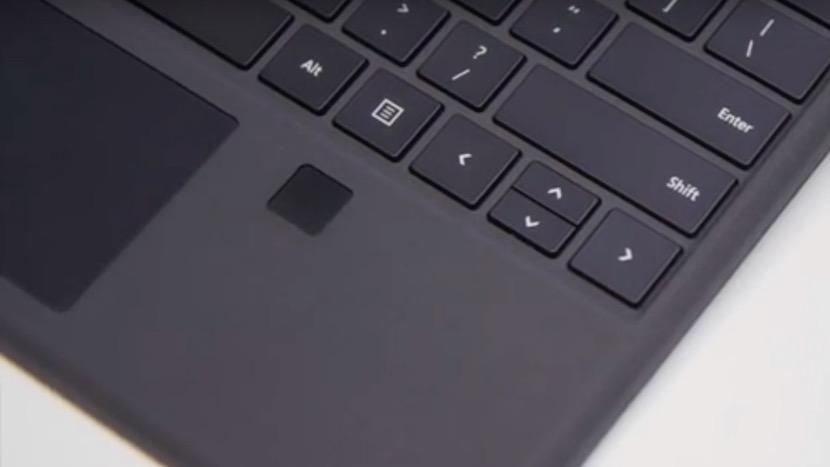 teclado sensor huellas surface Nuevo teclado con sensor de huellas para el Surface Pro 4