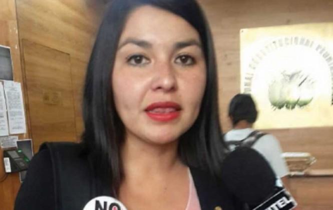 """Diputada Franco califica de """"ocioso y delirante"""" a García y anuncia juicio por acoso político"""