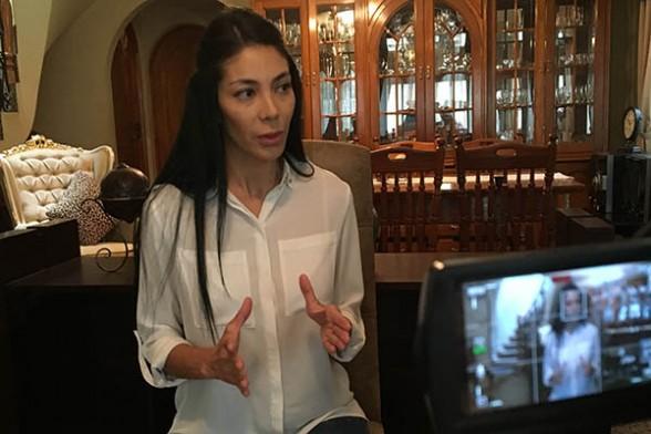 Paola, hermana de Gabriela  Zapata en entrevista con Los Tiempos. - Gerardo Bravo Los Tiempos Digital
