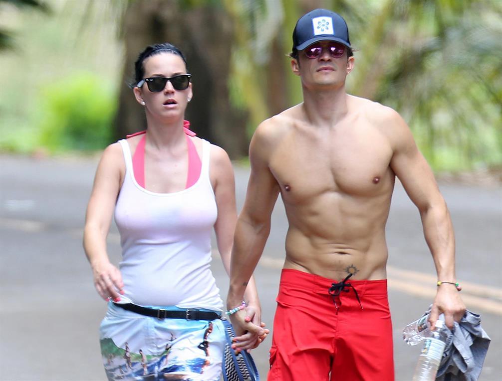 Katy Perry y Orlando Bloom, juntos en Hawai gentileza Grosby