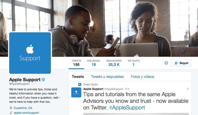 apple support 830x485 Apple abre una nueva cuenta Twitter para dar soporte a sus usuarios