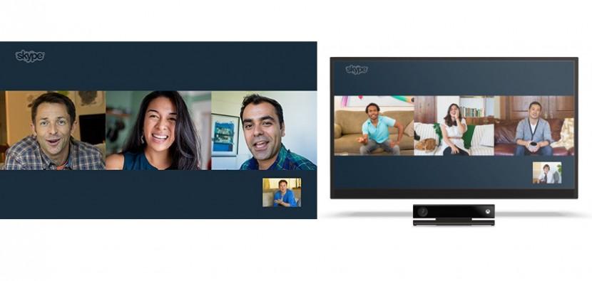 skype videollamadas en grupo 830x395 Microsoft dejará de dar soporte a Skype para TV