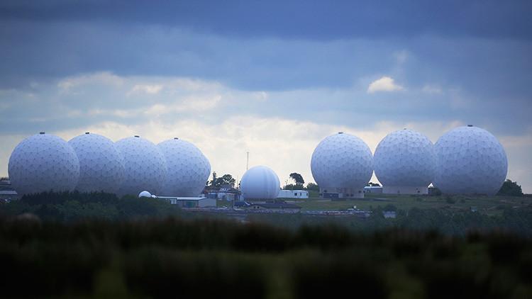 La base aérea Menwith Hill en Reino Unido.