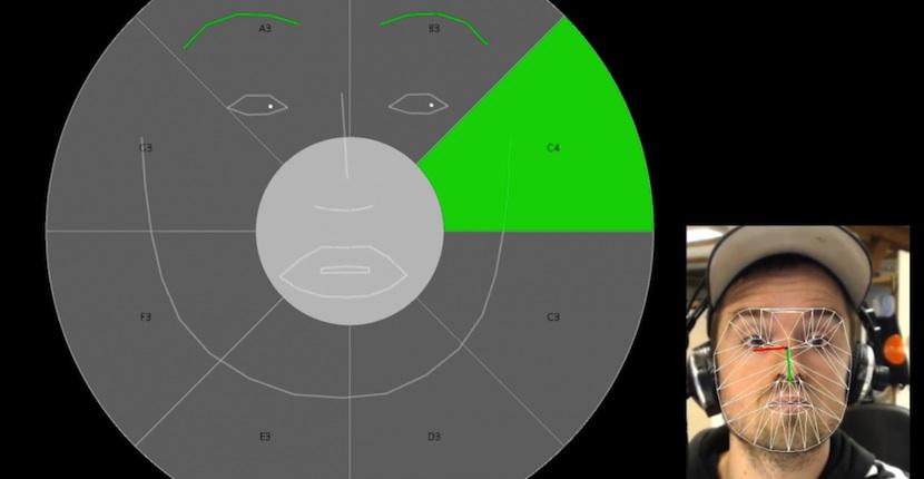 eye Componer música mediante expresiones faciales ya es posible