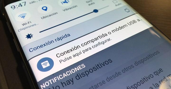 Wifi compartido Galaxy S7