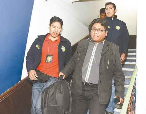 Investigación. El 3 de marzo, Jimmy Morales fue enviado a la cárcel de San Pedro, luego de ser imputado.