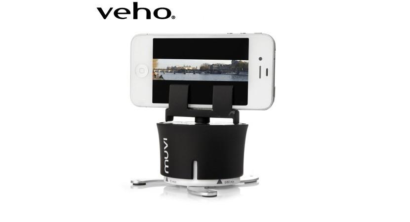 veho muvi x lapse 360 830x450 Review soporte rotatorio para cámara y smartphone Veho Muvi X Lapse 360