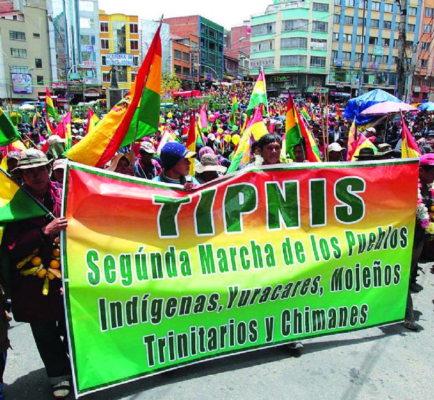 BNDES cometió cuatro faltas en el contrato de la vía por el TIPNIS