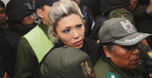 Gabriela Zapata decidió romper el silencio sobre el hijo que concibió con el presidente Evo Morales