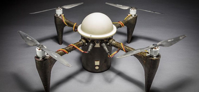 Imagen del dron acuático