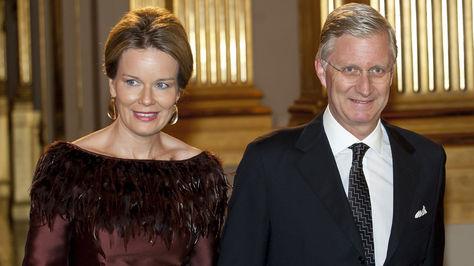 Matilde y Felipe, la pareja real de Bélgica. Foto: www.revistavanityfair.es