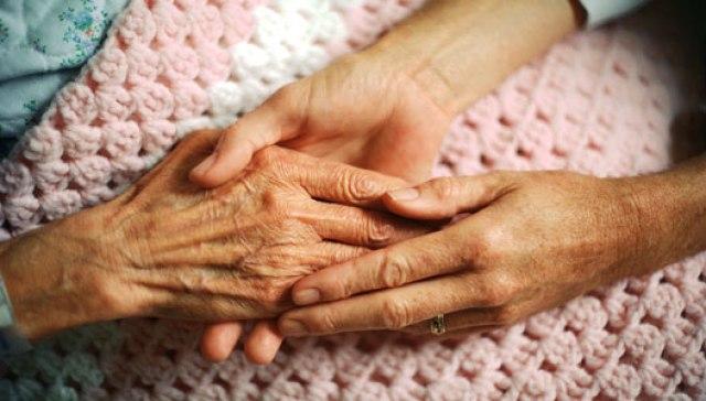 abuela manos