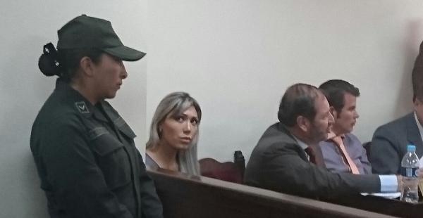 La Justicia determinó negar la acción de libertad a Gabriela Zapata. Continuará con detención preventiva en la cárcel de Obrajes