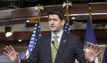 El presidente de la Cámara de Representantes de EEUU, Paul Ryan.