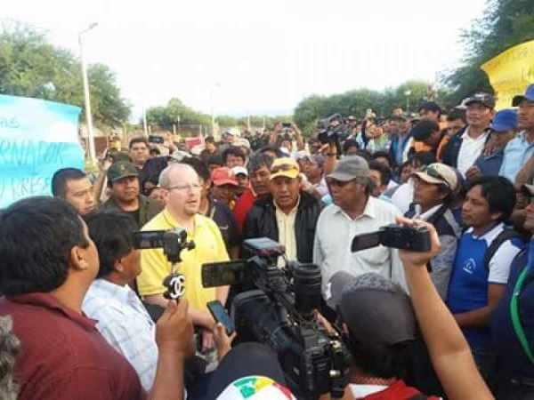 Fracasa diálogo en  Villa Montes, buscan una salida judicial