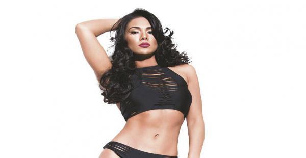 Dayana Romero. es la chica sexy, aunque se pierde en el grupo. le falta lucir mejor sus atributos