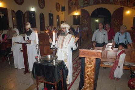 Iglesia Copta Ortodoxa celebra Semana Santa a final de abril