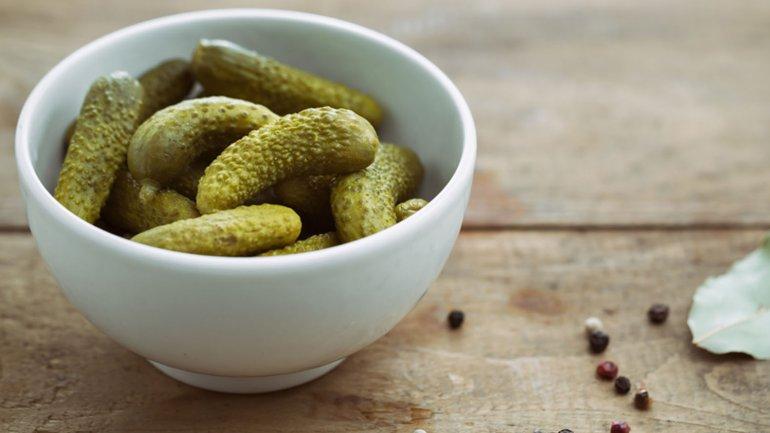 Los pickles además contienen muy pocas calorías